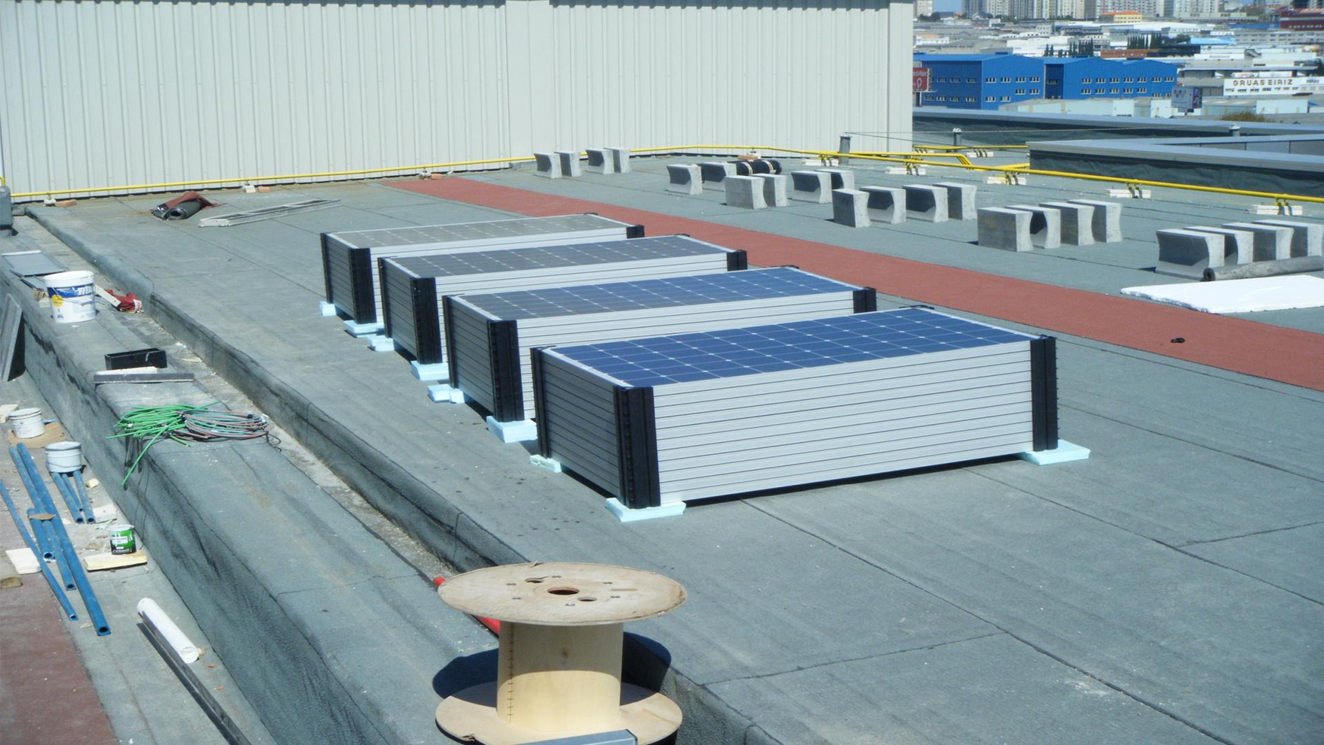 Proyecto de Instalación Solar Fotovoltáica en C.C. Marineda City
